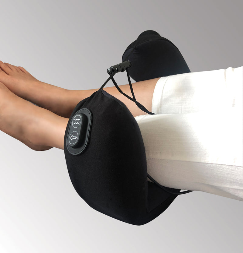 【Buy 1 Get 1 Free】Travelmall Switzerland 3-IN-1 Lite Massage & Heat Pillow with Patented Pump