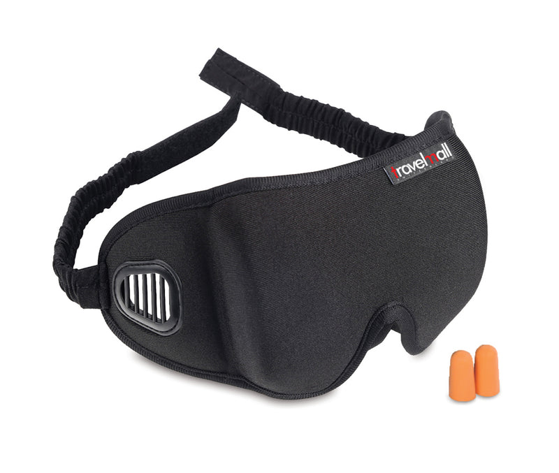 Travelmall Switzerland 3D Breathable Sleep Mask with  built-in air vents
