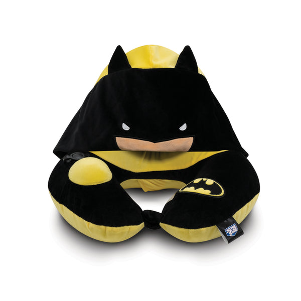 World's First Justice League Batman Hooded Pillow, with Patented Pump  (Best Batman Gift Ideas for adults and kids)