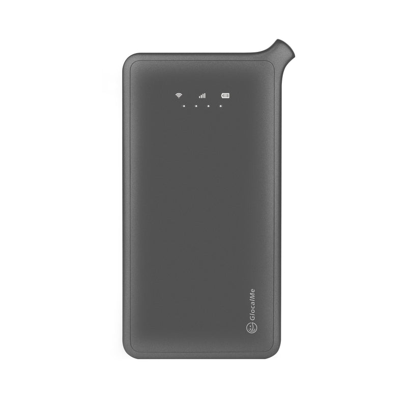 GlocalMe U2S Roaming-Free Portable WiFi Device, Space Grey edition (2GB Global Data)