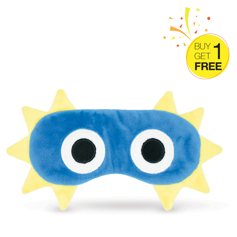 【Buy 1 Get 1 Free Promotion】Dinosaur Sleeping Eye Mask for Adult or Kids