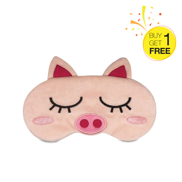 【Buy 1 Get 1 Free Promotion】Travelmall Switzerland Piglet Light-Blocking Sleeping Mask