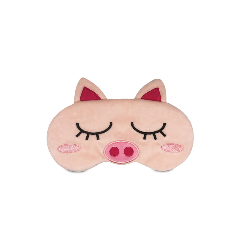 Travelmall Cute Piglet Light-Blocking Sleeping Mask
