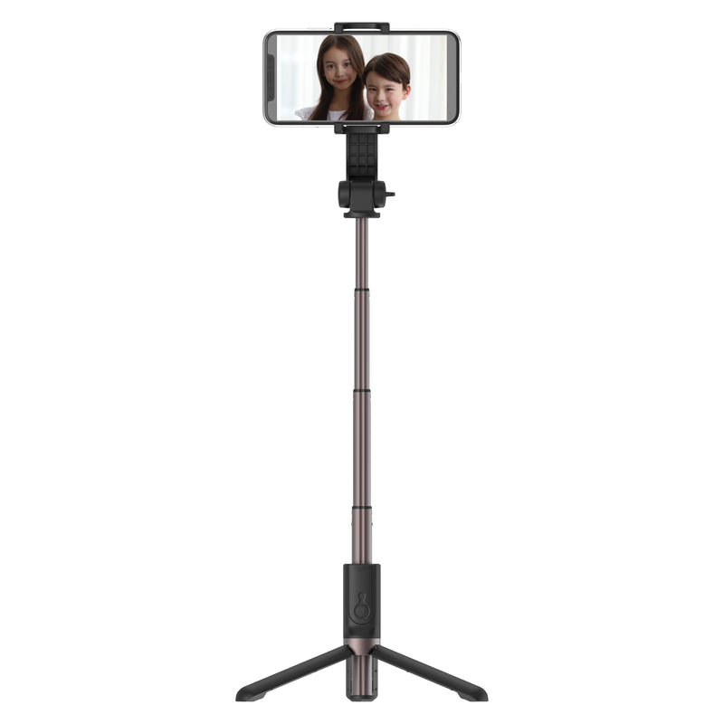 Travelmall 3-in-1 Smart Selfie Stick with integrated roll stabiliser, tripod and remote control
