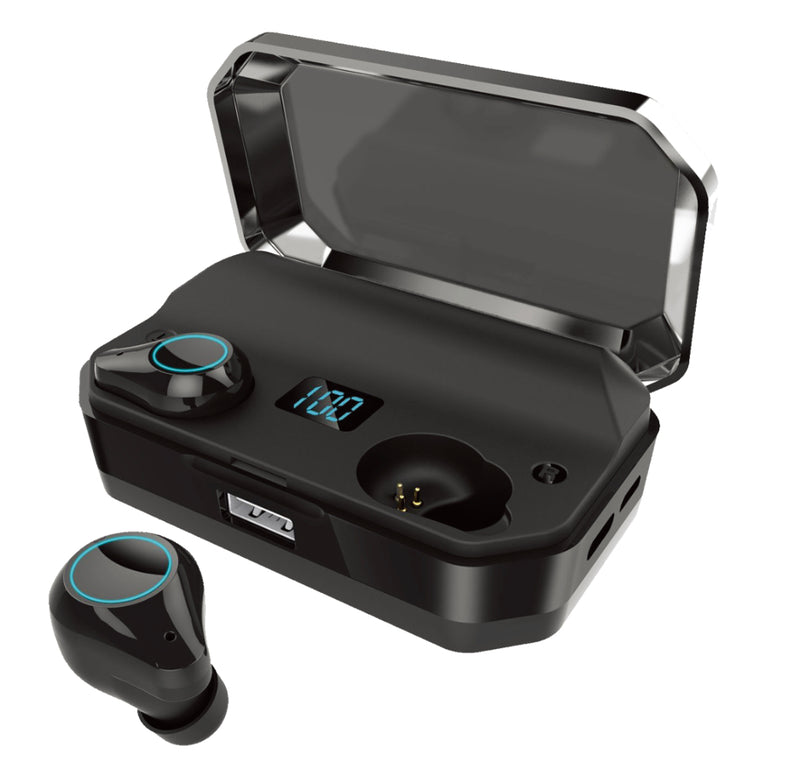Travelmall Switzerland Wireless Headphone with 7000mAh Charger
