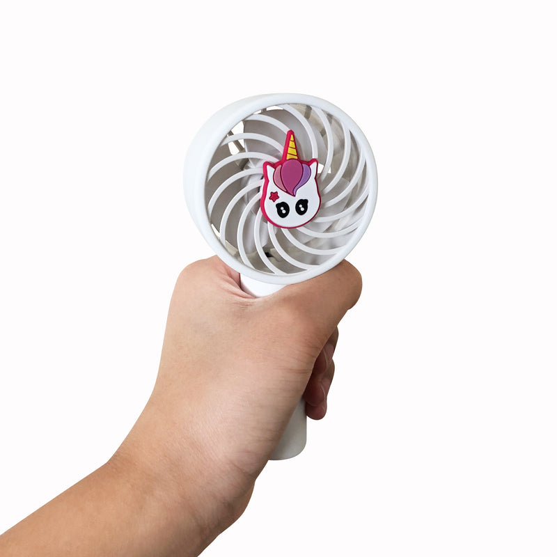 Travelmall Switzerland Unicorn XS Rechargeable Fan, suitable for adults/kids
