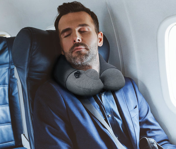Travelmall Switzerland Inflatable Nursing Neck Pillow With Patented 3D Pump