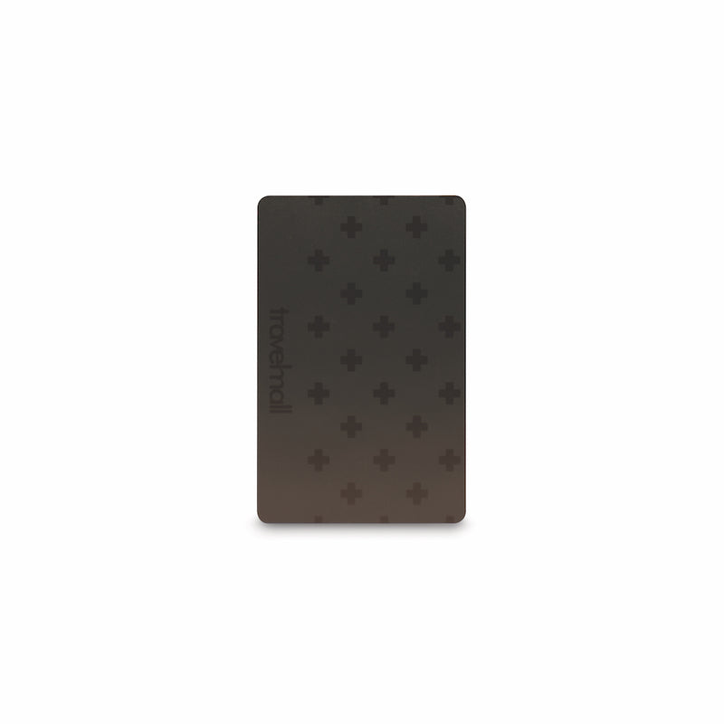 Travelmall Ultra-Slim Stick-on RFID Card Holder with SIM removal card Set