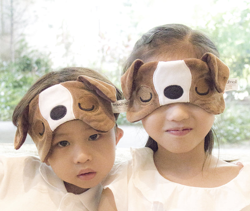 Kid's Light-Block Sleep Mask, Bull Dog Edition