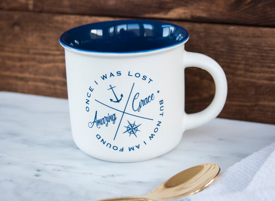 Camp Style Mug - Amazing Grace