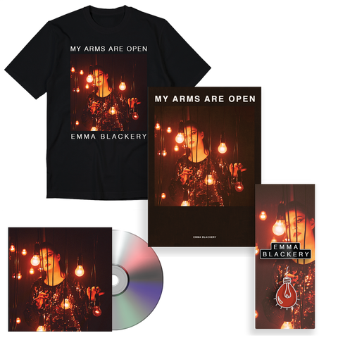 My Arms are Open T SHIRT, POSTER, PIN & EP Bundle