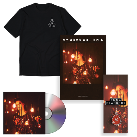 WOLVES T SHIRT, POSTER, PIN & EP BUNDLE