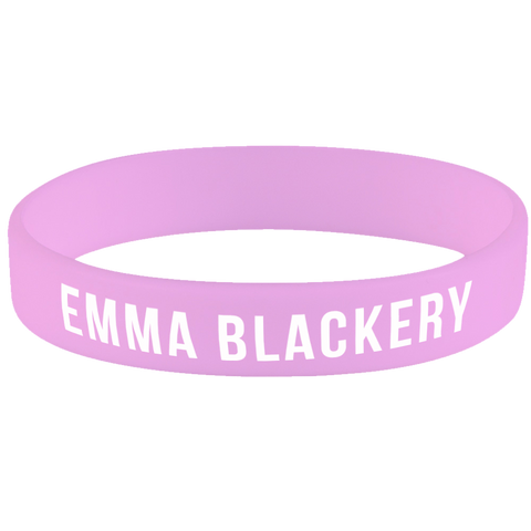 EMMA BLACKERY PINK WRISTBAND