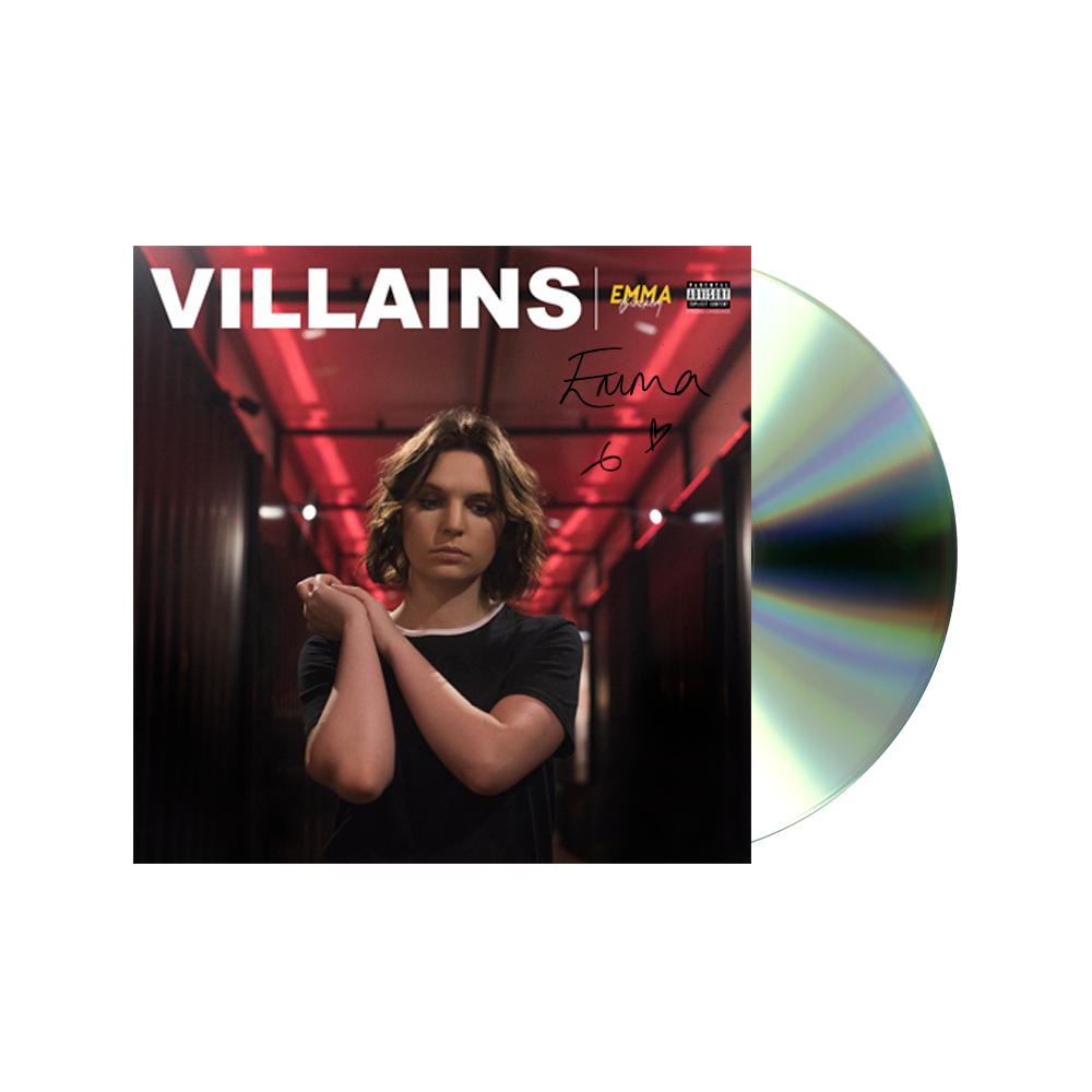 VILLAINS CD SIGNED