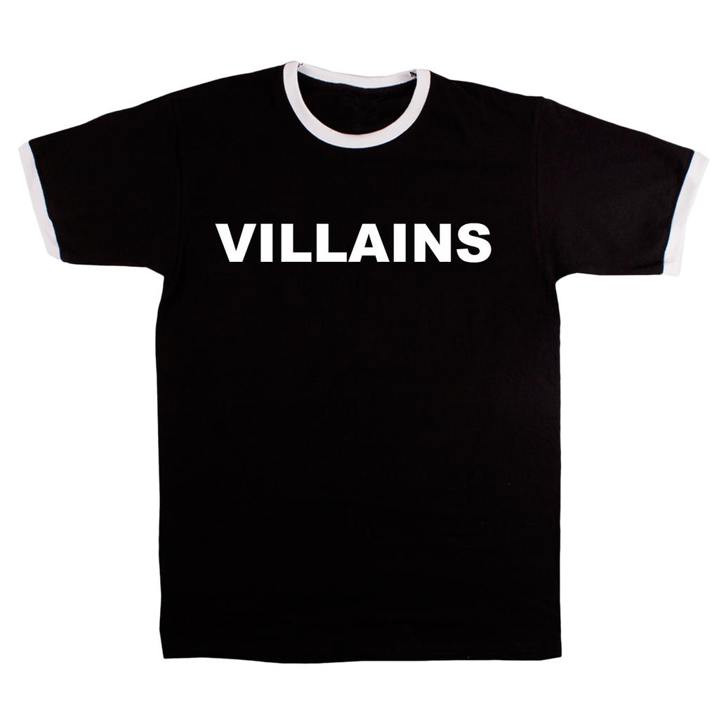 VILLAINS RINGER T-SHIRT