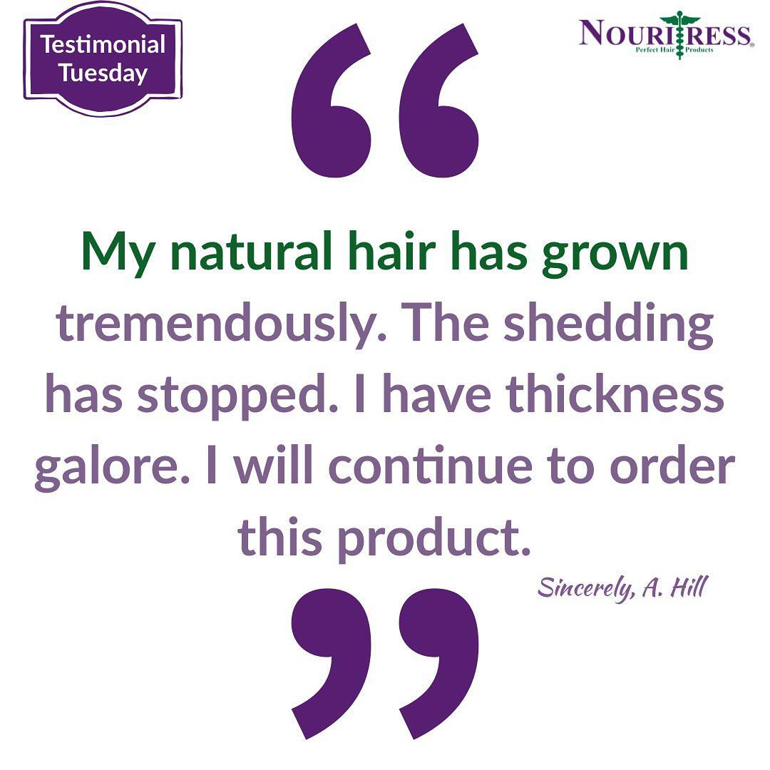 Proudly Introducing Nouritress Products to She Never Tells Salon!