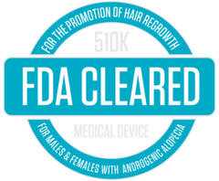 FDA Cleared for the promotion of hair regrowth for males and females with androgenic alopecia.