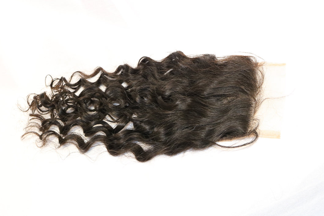 Brazilian Curly Lace Closure