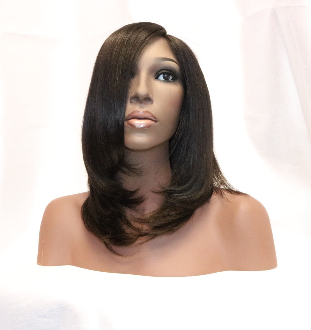 Brazilian Straight Lace Closure Wig