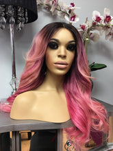 Load image into Gallery viewer, Eurasian Straight Custom Colored Pink Wig