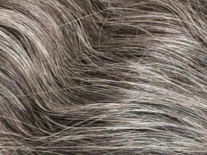 Medium Gray Natural Wavy Indian Hair