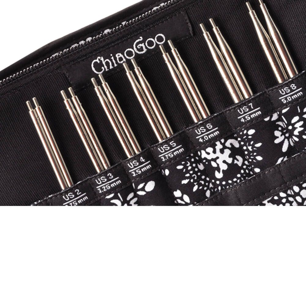 ChiaoGoo - Twist Red Interchangeable Needle Set - 5""