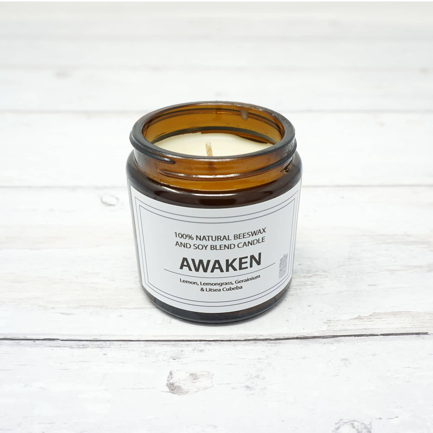 White Candle Company PURE 120g Jar - Awaken | Yarn Worx