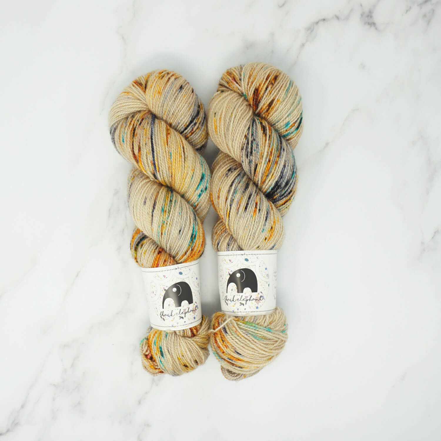 Black Elephant - Blue Faced Leicester Yarn - 110g - Nevermind | Yarn Worx