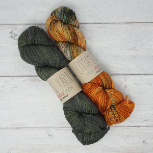 Breathe & Hope Kit - Casapinka's LYS Day Project - Emma's Yarn Super Silky WITH FREE PATTERN Kale & 10 Questions | Yarn Worx