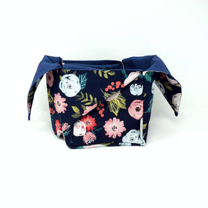 Heather Project Bag - Blushy Flowers | Yar Worx