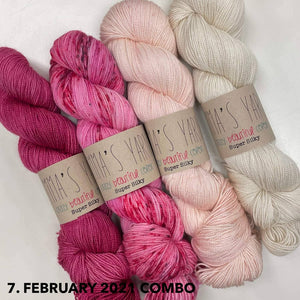 Botanique by Casapinka - Emma's Yarn Super Silky - February 2021 Combo | Yarn Worx