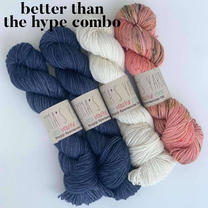 Noncho by Casapinka - Emma's Yarn Simply Spectacular DK in better than the hype combo  | Yarn Worx