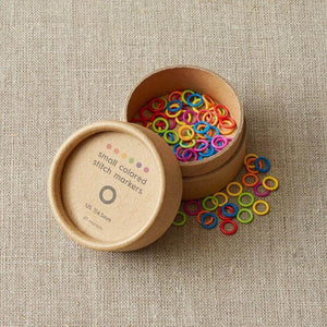 Cocoknits - Small Coloured Ring Stitch Markers | Yarn Worx