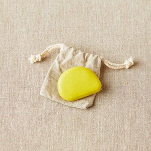 Cocoknits - Tape Measure shown in the colour Mustard Seed Yellow | Yarn Worx