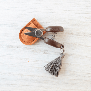 Cohana - Mini Yarn Snips shown in grey | Yarn Worx