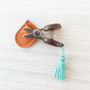 Cohana - Mini Yarn Snips shown in Turquoise | Yarn Worx