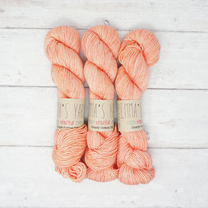 Emma's Yarn - Comfy Cotton DK Yarn - 100g - Don't Call me Peaches | Yarn Worx