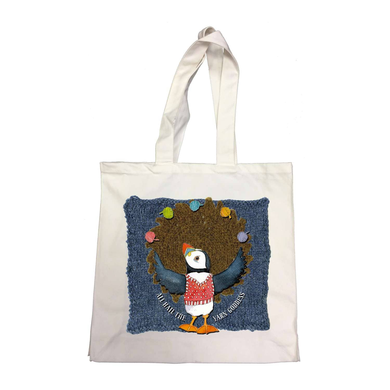 Emma Ball - Yarn Goddess - Cotton Canvas Bag | Yarn Worx