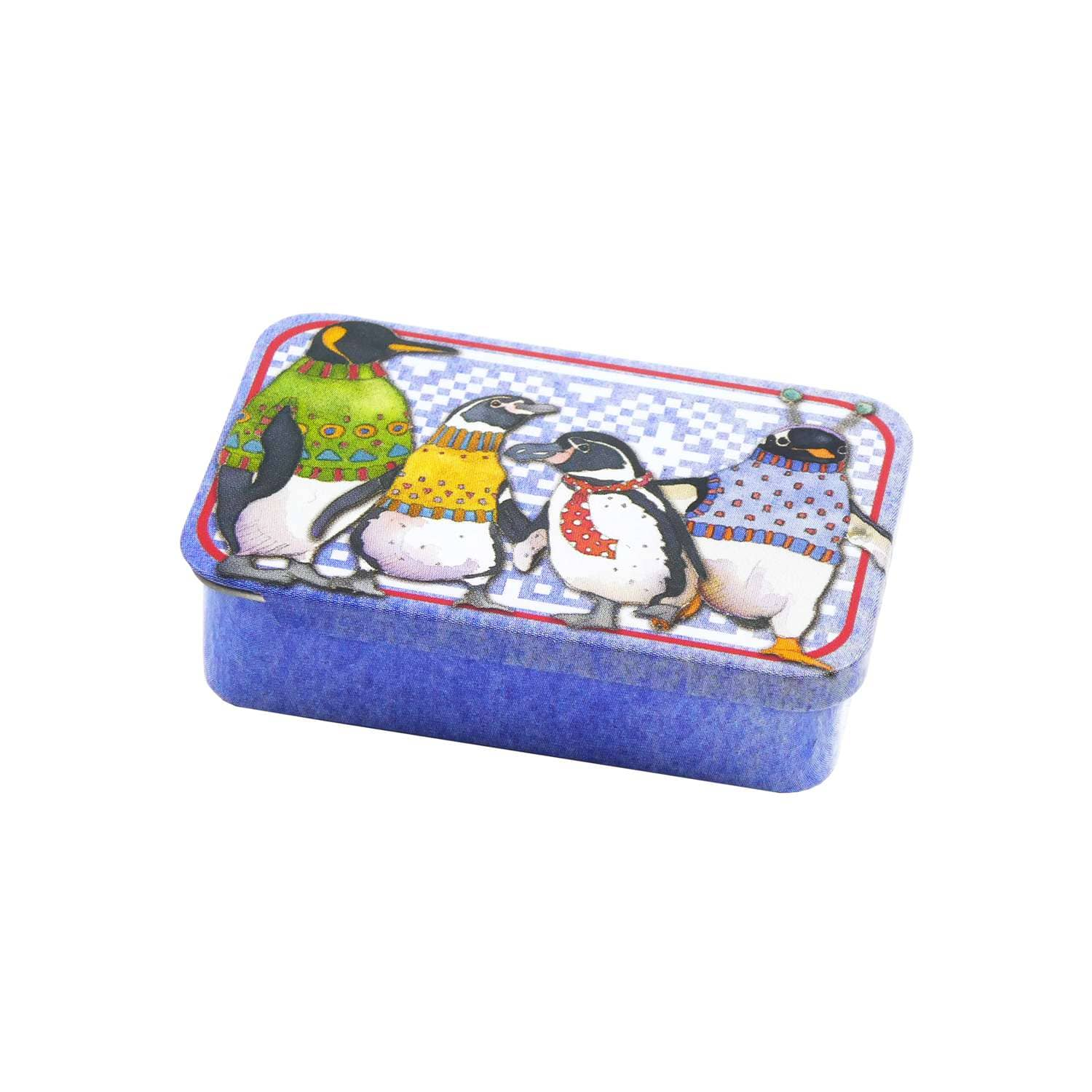 Emma Ball - Penguins in Pullovers Mini Notions Tin | Yarn Worx
