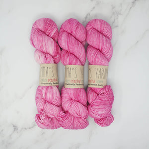 Emma's Yarn - Practically Perfect Sock Yarn - 100g - Barbie Girl | Yarn Worx