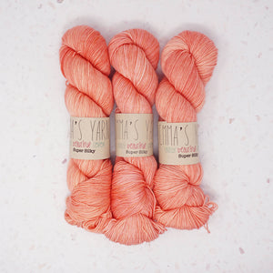 Emma's Yarn - Super Silky Yarn - 100g - Don't call me Peaches | Yarn Worx