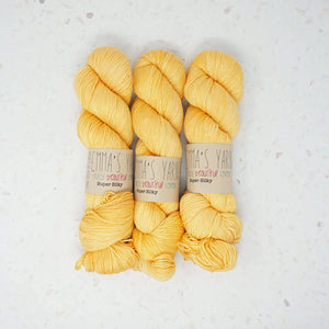 Emma's Yarn - Super Silky - 100g - Yellow Submarine