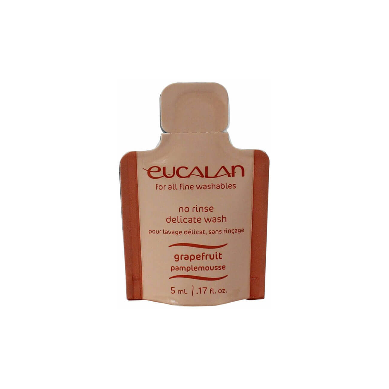 Eucalan No Rinse Delicate Wash - 5ml - Grapefruit | Yarn Worx