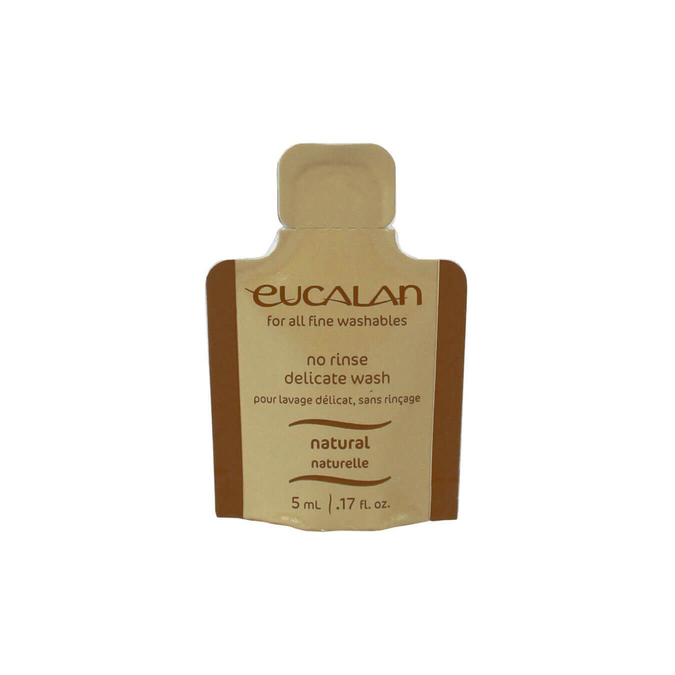 Eucalan No Rinse Delicate Wash - 5ml - Natural | Yarn Worx