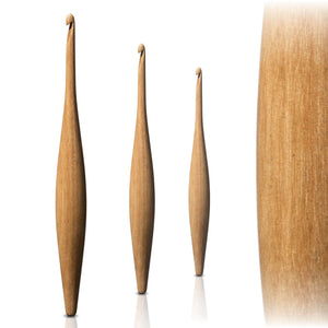 Furls Streamline Crochet Hook - Teak - 3.5mm Multiple | Yarn Worx