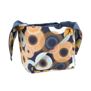 Heather Project Bag - Spirograph pattern