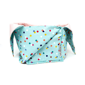 Heather Project Bag - Spots at Sea | Yarn Worx