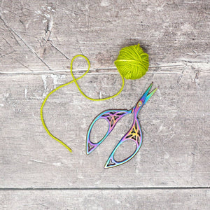 HiyaHiya Rainbow Scissors - Leaves | Yarn Worx