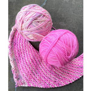 Hug Shot Shawl Kit - Casapinka Pattern - Emma's Yarn Super Silky | Yarn Worx