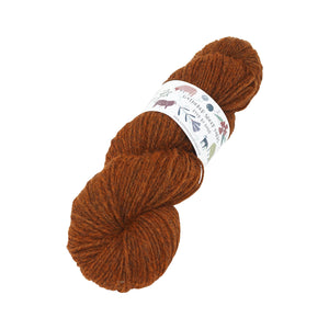 Gathered Sheep Yarns - Jacob DK - 100g - Orange Peel